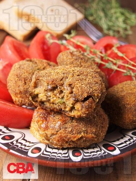 Вегетариански кюфтенца от леща и гъби - снимка на рецептата